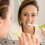Richtige Putzbewegungen mit elektrischen Zahnbürsten