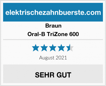 Braun Oral-B TriZone 600 Test
