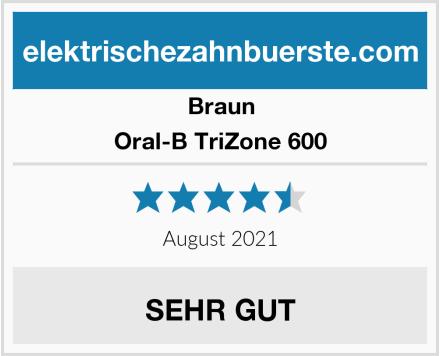 Braun Oral-B TriZone 600 Test