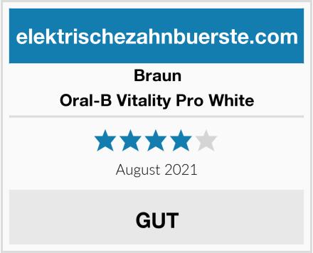 Braun Oral-B Vitality Pro White Test