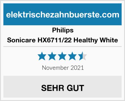 Philips Sonicare HX6711/22 Healthy White Test
