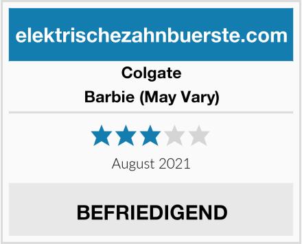Colgate Barbie (May Vary) Test