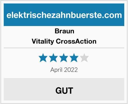 Braun Vitality CrossAction Test