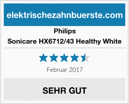 Philips Sonicare HX6712/43 Healthy White Test