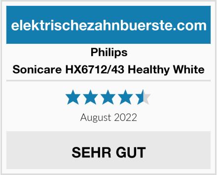 Philips Sonicare HX6712/43 Healthy White Test