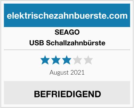 SEAGO USB Schallzahnbürste Test