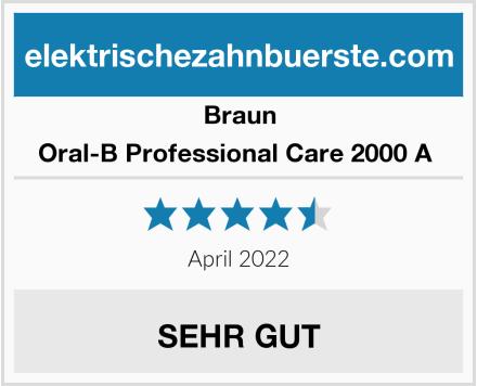 Braun Oral-B Professional Care 2000 A  Test