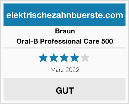 Braun Oral-B Professional Care 500 Test