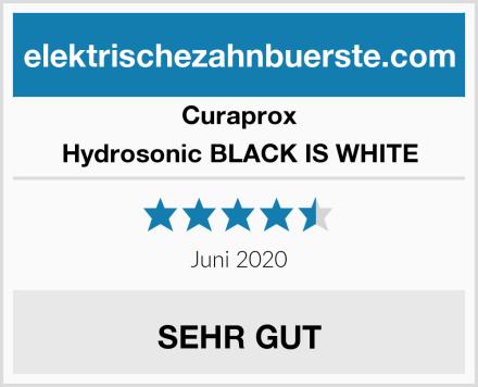 Curaprox Hydrosonic BLACK IS WHITE Test