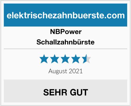 NBPower Schallzahnbürste Test