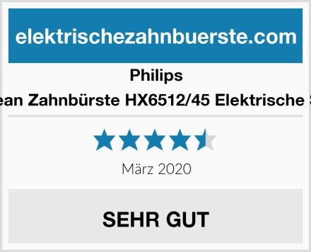 Philips Sonicare EasyClean Zahnbürste HX6512/45 Elektrische Schallzahnbürste Test