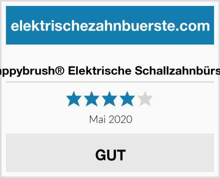 happybrush® Elektrische Schallzahnbürste Test