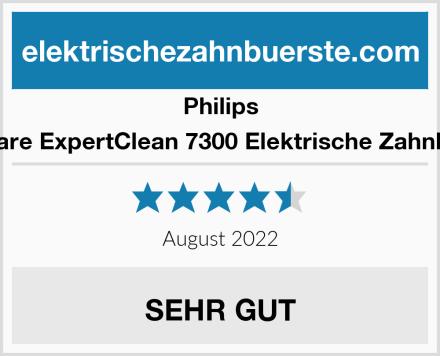 Philips Sonicare ExpertClean 7300 Elektrische Zahnbürste Test