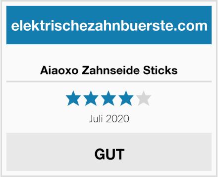Aiaoxo Zahnseide Sticks Test