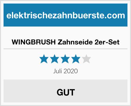 WINGBRUSH Zahnseide 2er-Set Test