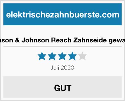 Johnson & Johnson Reach Zahnseide gewachst Test