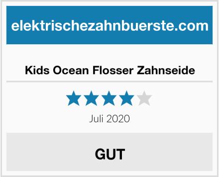 Kids Ocean Flosser Zahnseide Test