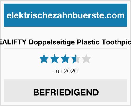 HEALIFTY Doppelseitige Plastic Toothpicks Test