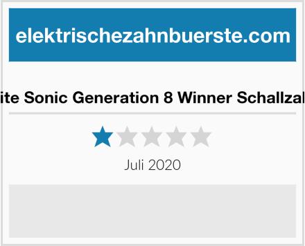 edel+white Sonic Generation 8 Winner Schallzahnbürste Test