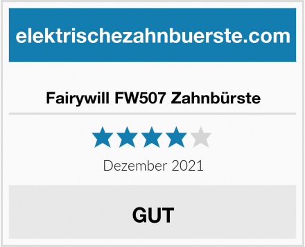 Fairywill FW507 Zahnbürste Test