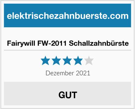Fairywill FW-2011 Schallzahnbürste Test