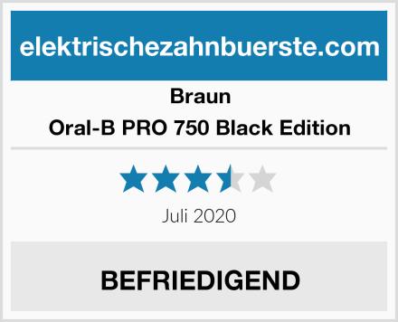 Braun Oral-B PRO 750 Black Edition Test