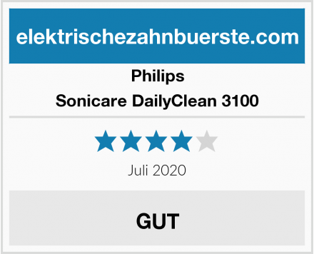Philips Sonicare DailyClean 3100 Test