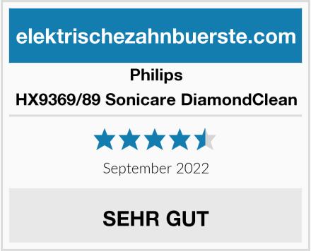 Philips HX9369/89 Sonicare DiamondClean Test