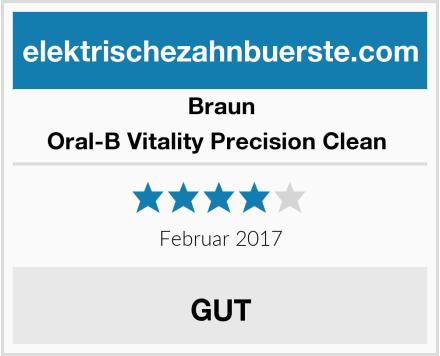 Braun Oral-B Vitality Precision Clean  Test