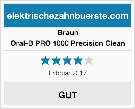 Braun Oral-B PRO 1000 Precision Clean Test