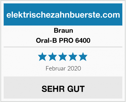 Braun Oral-B PRO 6500 Test