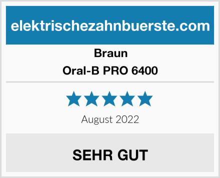 Braun Oral-B PRO 6400 Test