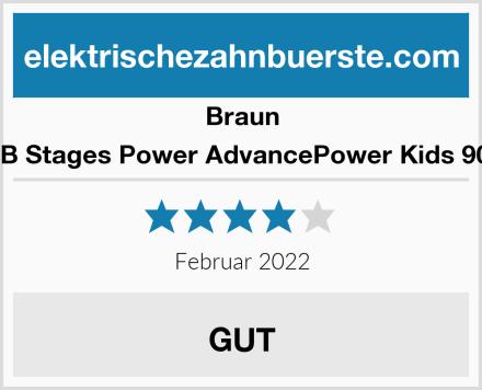 Braun Oral-B Stages Power AdvancePower Kids 900TX  Test