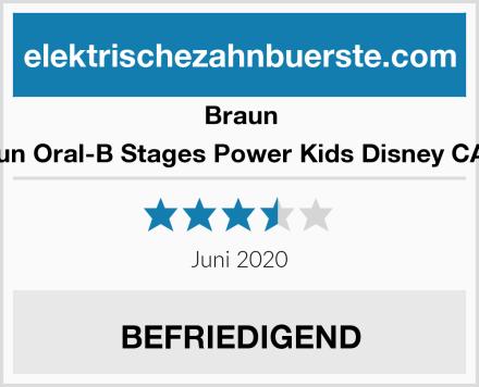 Braun Braun Oral-B Stages Power Kids Disney CARS  Test