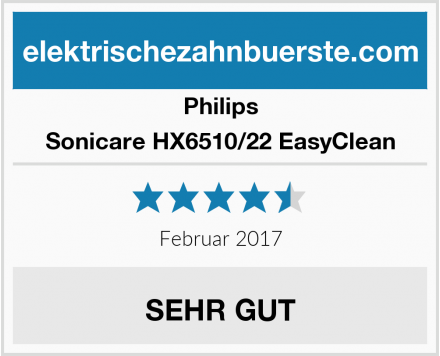 Philips Sonicare HX6510/22 EasyClean Test