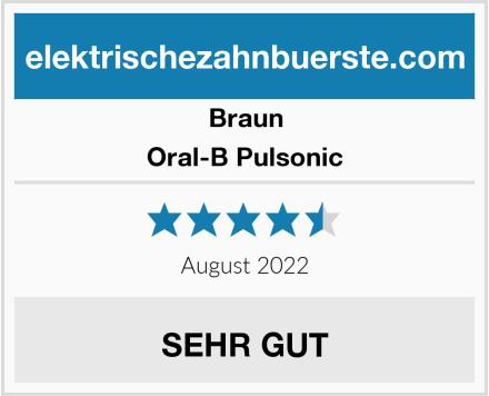 Braun Oral-B Pulsonic Test