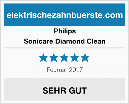 Philips Sonicare Diamond Clean Test