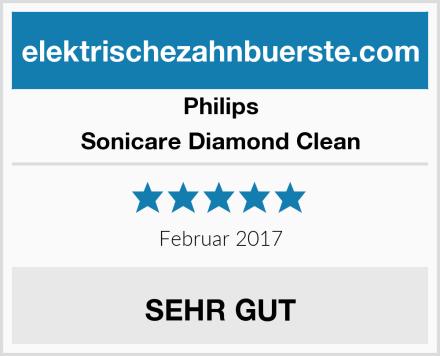 Philips Sonicare Diamond Clean Test