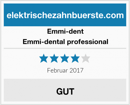 Emmi-dent Emmi-dental professional Test