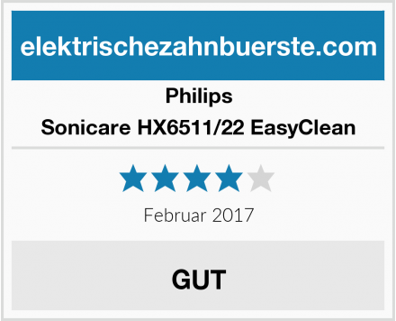 Philips Sonicare HX6511/22 EasyClean Test