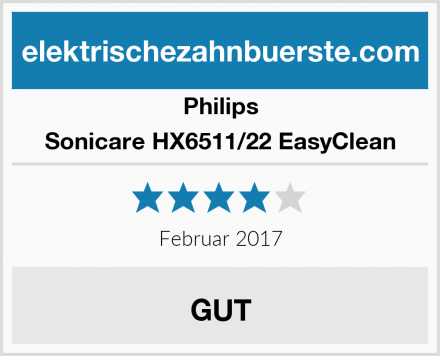 Philips Sonicare HX6511/22 EasyClean Test