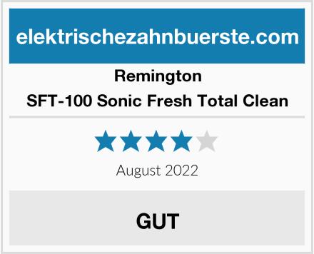 Remington SFT-100 Sonic Fresh Total Clean Test