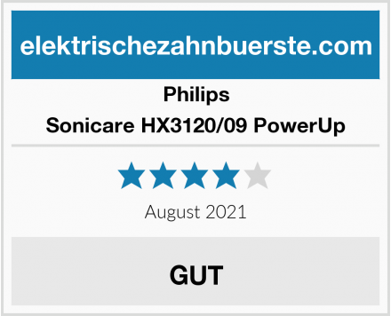 Philips Sonicare HX3120/09 PowerUp Test