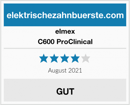 elmex C600 ProClinical Test