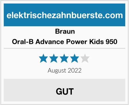 Braun Oral-B Advance Power Kids 950 Test