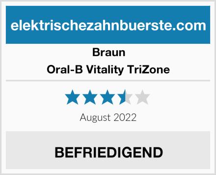 Braun Oral-B Vitality TriZone Test