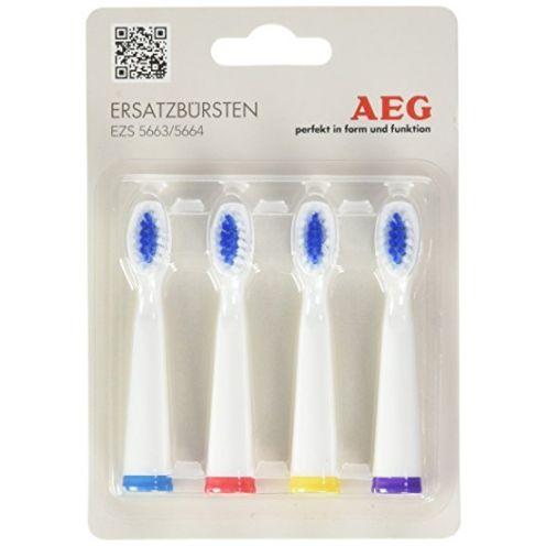 AEG EZB 5663/5664 4er Blister Ersatzzahnbürsten