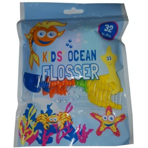 Kids Ocean Flosser Zahnseide