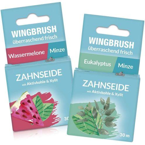 WINGBRUSH Zahnseide 2er-Set